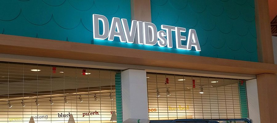 Davids Tea Illuminated Letters