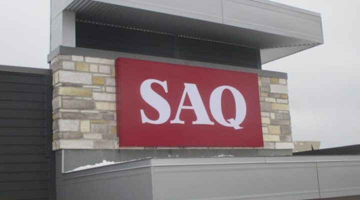 SAQ Single Faced Wall Sign